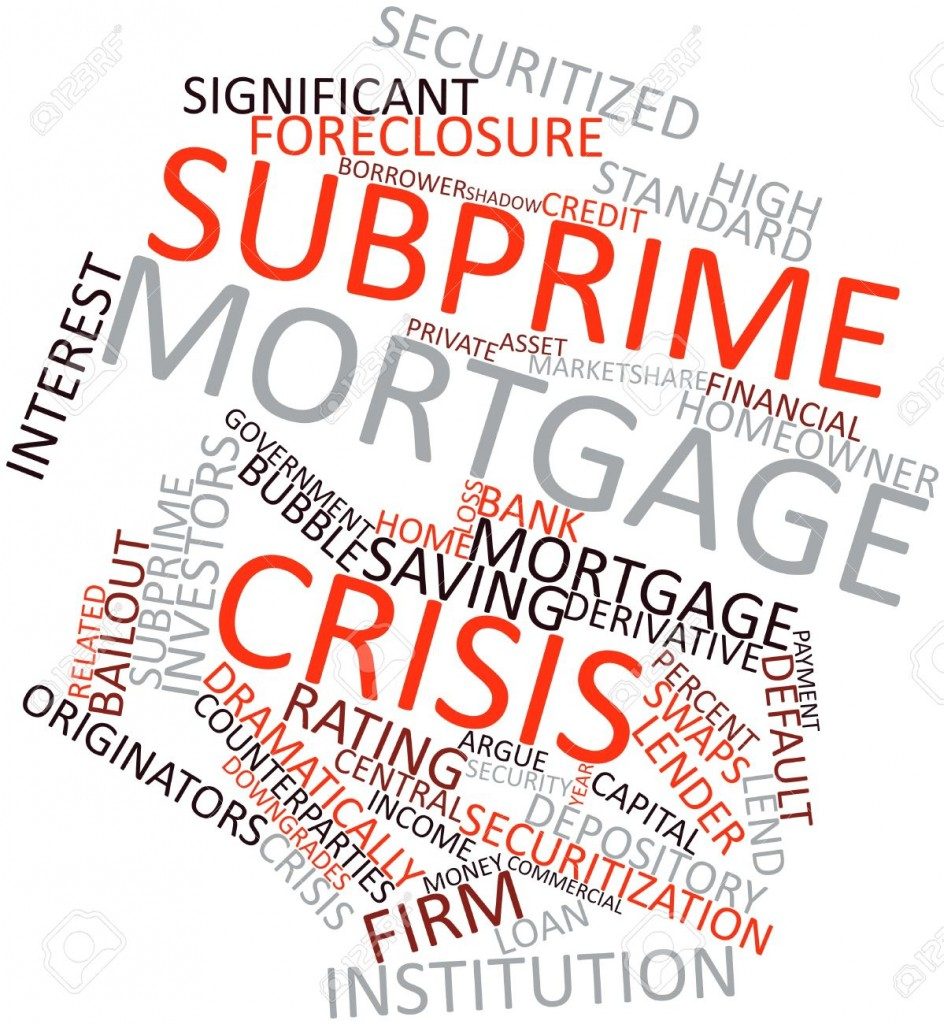 subprime mortgage The collapse of the subprime mortgage market in late 2006 set in motion a chain  reaction of economic and financial adversity that has spread to global financial.
