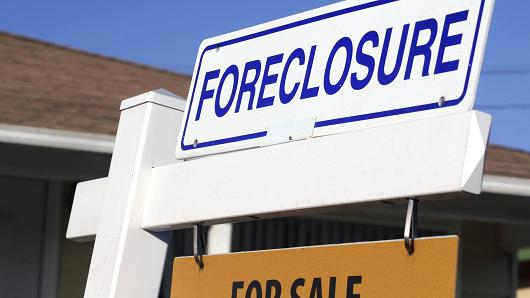 foreclosures down jan 2016