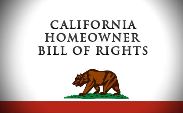 California Homeowner Survivor Bill of Rights Passes
