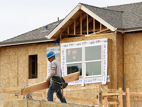 Housing Starts Fall 5.5 Percent in May
