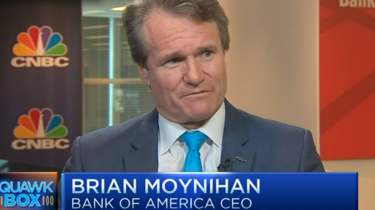Bank of America CEO calls for lower mortgage down payments